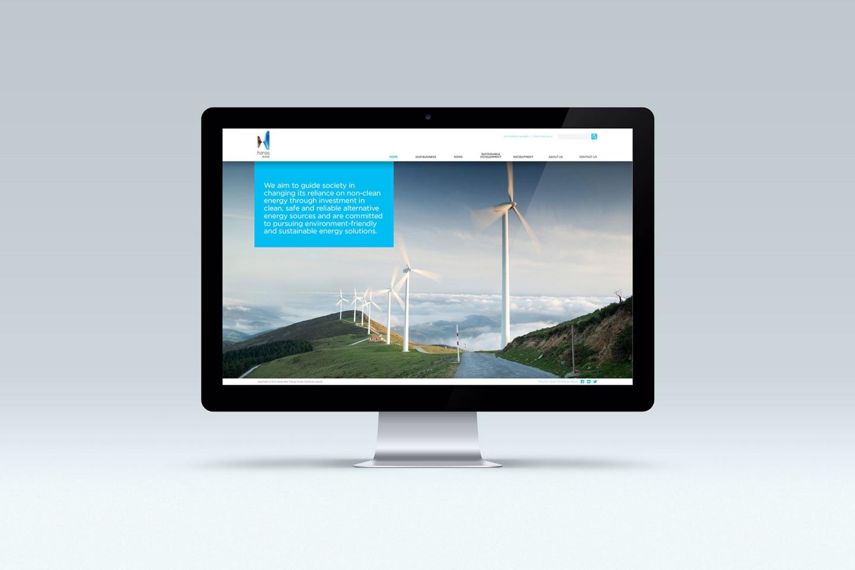 Hanas: Corporate Website