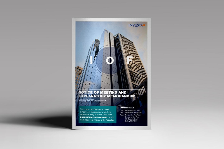 Investa IOF: Explanatory Memorandum