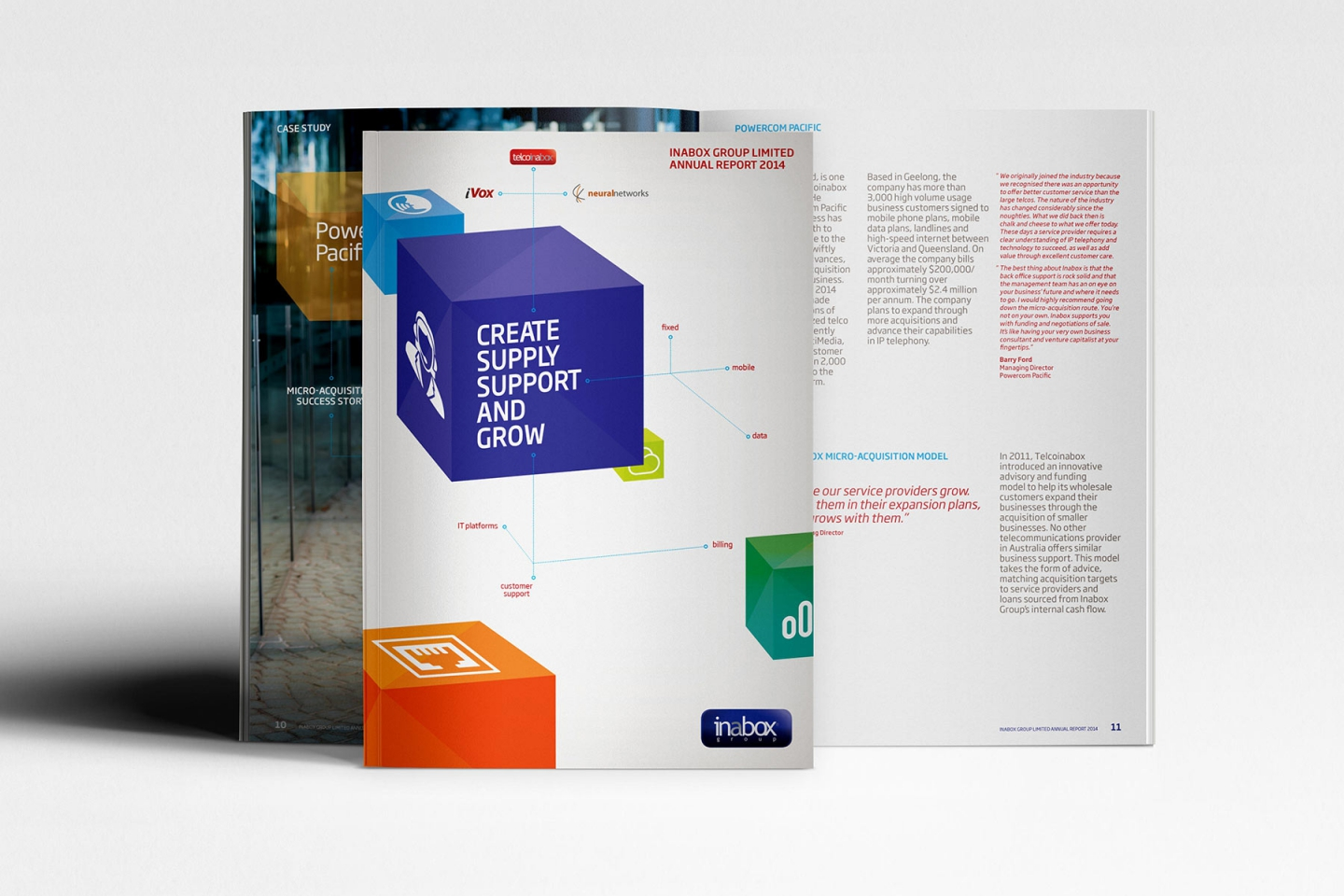 Inabox Group: Annual Report 2014