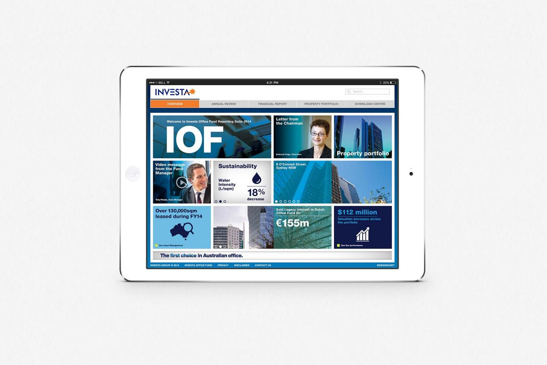 Investa IOF: Online Reporting Suite 2014