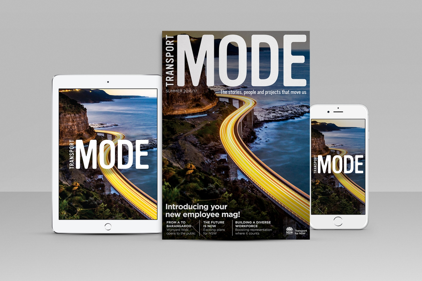 Transport NSW: Mode Magazine