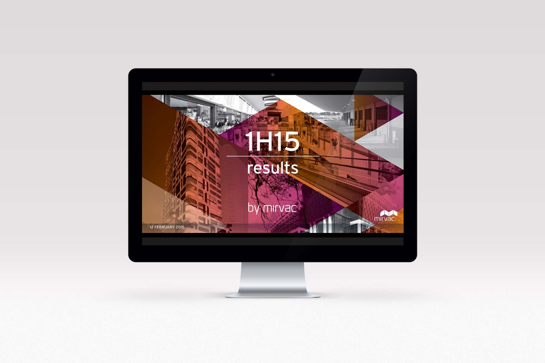 Mirvac: 1H15 Results Presentation