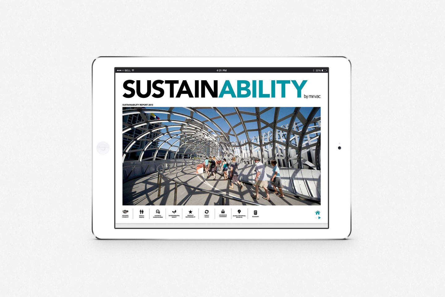 Mirvac: Sustainability Report Online 2013