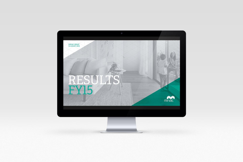 Mirvac: Results Presentation 2015