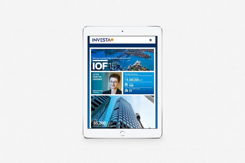 Investa IOF: Online Reporting Suite 2015